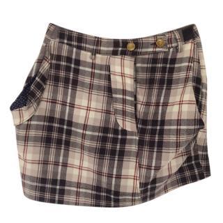 Vivienne Westwood Tartan Mini Skirt