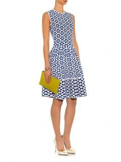 Alexander McQueen Intarsia Knit A-Line Dress