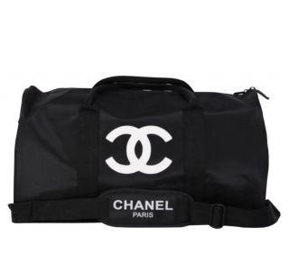 Chanel Black CC VIP Duffle Bag