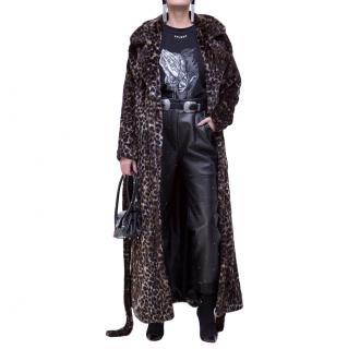 Epuzer Amber Leopard Print Coat