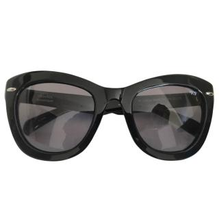Linda Farrow Black Special Projects Sunglasses