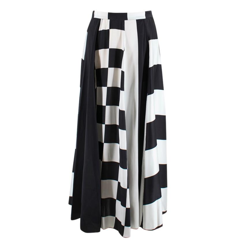 Dodo Bar Or Martha high-rise silk-satin midi skirt