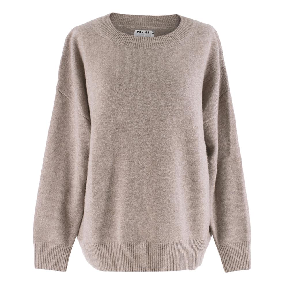 Frame Cashmere Camel Sweater