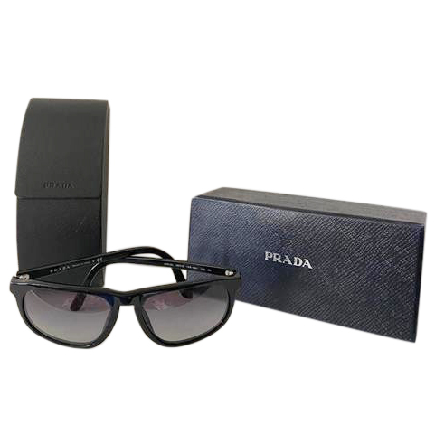 Prada Black SPR 22L Square Sunglasses