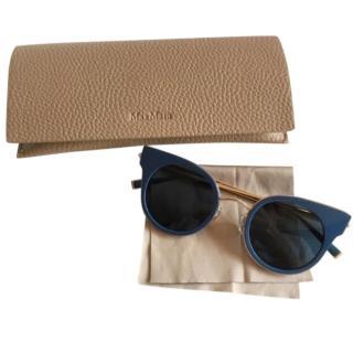 Max Mara MM Idle I Blue Sunglasses