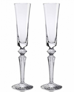 Baccarat Mille Nuits Crystal Champagne Flutes