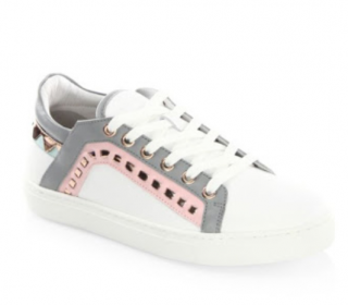 Sophia Webster Riko Leather Low-Top Sneakers