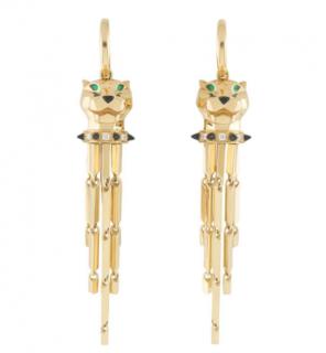 Cartier Yellow Gold Drop Earrings