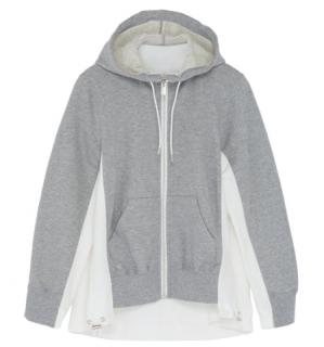 Sacai Japan Kids unisex Colourblock Jacket hoodie top 8Y