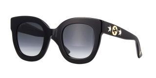 Gucci GG0208S 001 Black Sunglasses