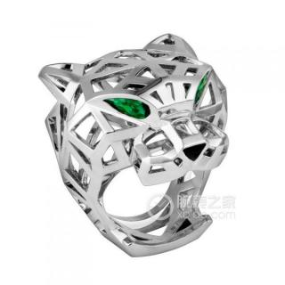 Cartier Panther De Cartier Tsavorite/White Gold Panthere Ring