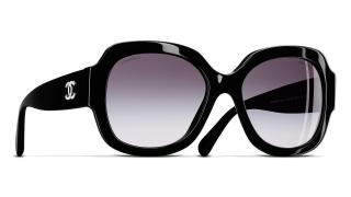 Chanel 5373 501/S6 Black Sunglasses