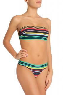 Stella McCartney Striped Bikini Bottoms