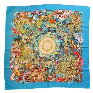 Hermes Au Coeur De La Vie Silk Scarf 90