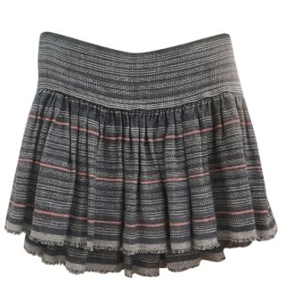 Isabel Marant Striped Tweed Mini Skirt