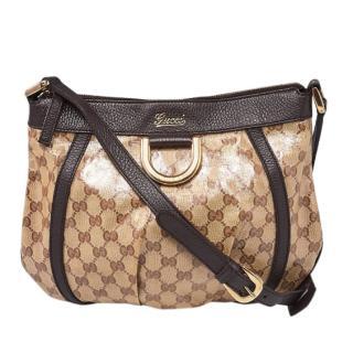 Gucci Monogram Crossbody Bag