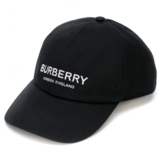 Burberry Black Logo Cap