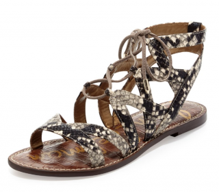 Sam Edelman Snakeprint Sandals