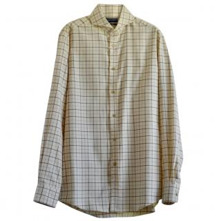 Ralph Lauren Purple Label Keaton check cotton shirt
