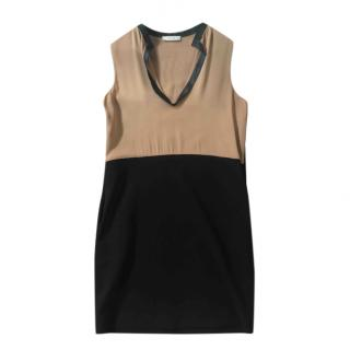 Celine Two-Tone Fitted Dress