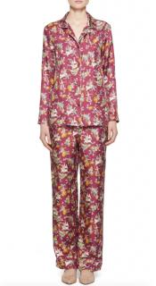 Gabriela Hearst Frida Mythical Print Silk print Pyjamas