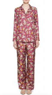 Gabriela Hearst Frida Mythical Print Silk print Pyjamas