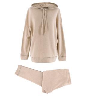 Morpho + Luna cashmere hoodie and joggers