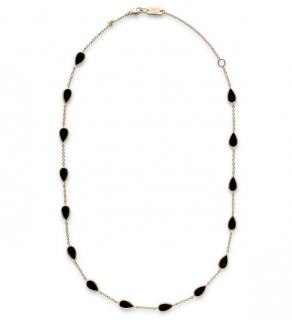 Ippolita Pear Multi Station Necklace in 18K Gold