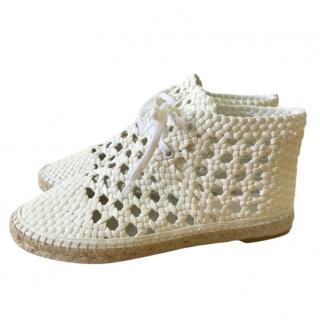 Celine Woven Espadrille Shoes