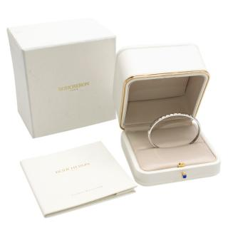 Boucheron White Gold Quatre Clou de Paris Bangle