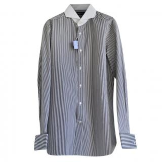 Ralph Lauren Purple Label Keaton striped shirt