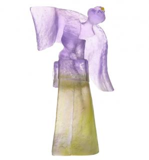 Daum France x Sophie Zina Geisha Crystal Sculpture