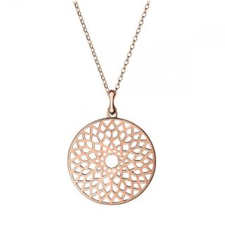 Links of London Filigree Rose Gold Plated Pendant Necklace