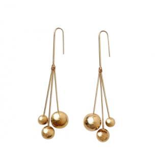 Celine 3 Drop Swing Earrings