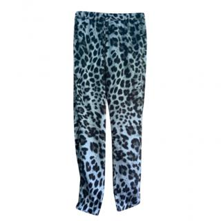 Michael Michael Kors leopard Print Joggers
