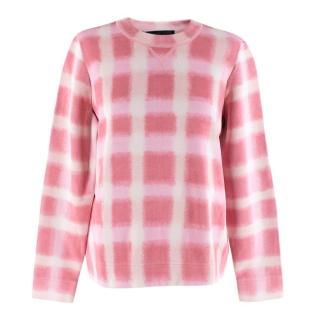 Marc By Marc Jacobs Gingham pique sweater