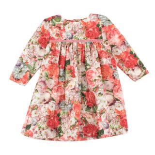 Cairenn Foy floral smock dress