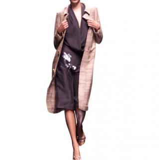 Chloe by Stella McCartney Runway Linen Horse Embellished Dress