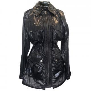 Chanel Nylon Waterproof Rain Jacket