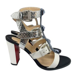Christian Louboutin Rocknbuckle 85 Sandals