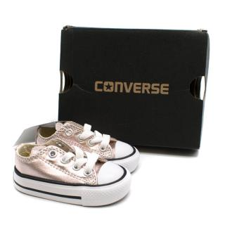 Converse Infant rose quart all star sneakers