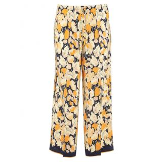 Dries Van Noten Floral Print Puvis Trousers