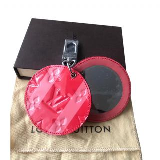 Louis Vuitton Monogram Red & Pink Bag Charm & Compact Mirror