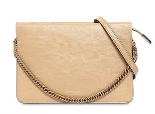 Givenchy Cross3 leather & suede shoulder bag