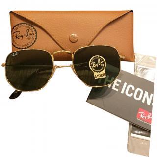 Ray Ban Icons 3548 Hexagonal Sunglasses