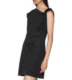 Helmut Lang Black Twist Tank Dress