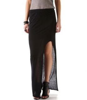 Helmut Lang Kinetic Side Slit Maxi Skirt