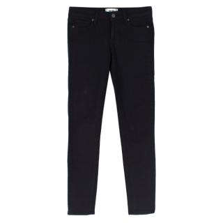 Paige Verdugo Black Ultra Skinny Jeans