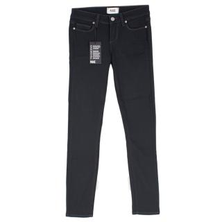 Paige Verdugo Ankle Kensington Dark Blue Jeans