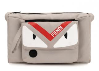 Fendi Grey Kid's Pram Organiser Bag